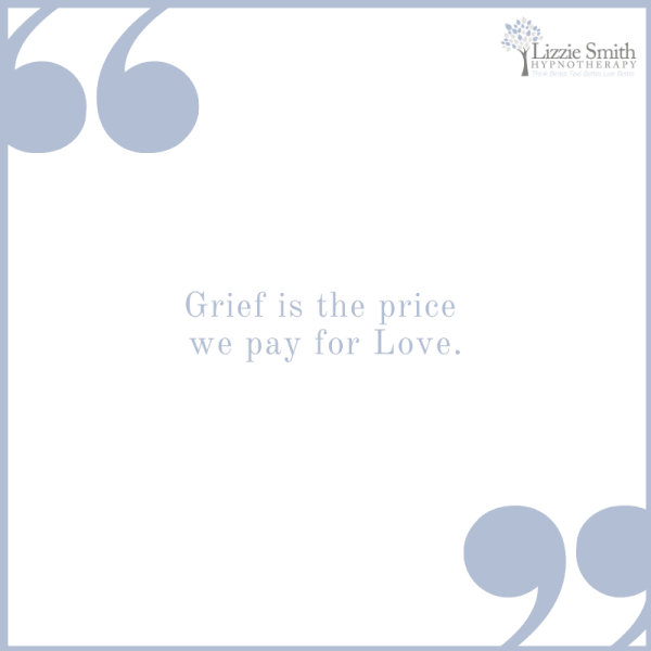 Grief is the price we pay